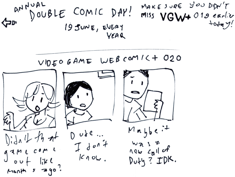 Video Game Webcomic+ 020