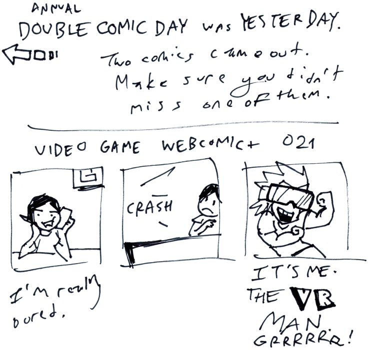 Video Game Webcomic+ 021