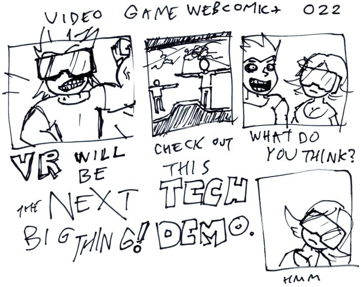 Video Game Webcomic+ 022