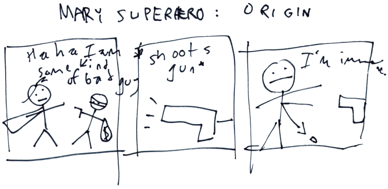 Mary Superhero: 0rigin
