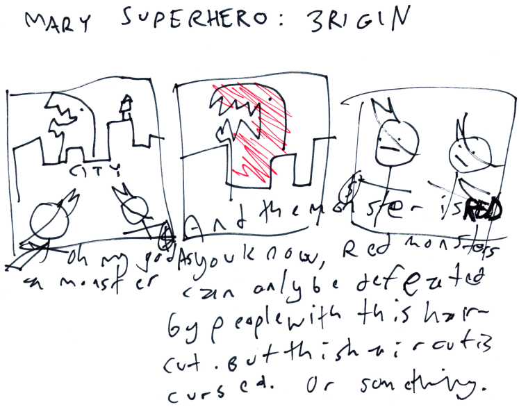Mary Superhero: 3rigin