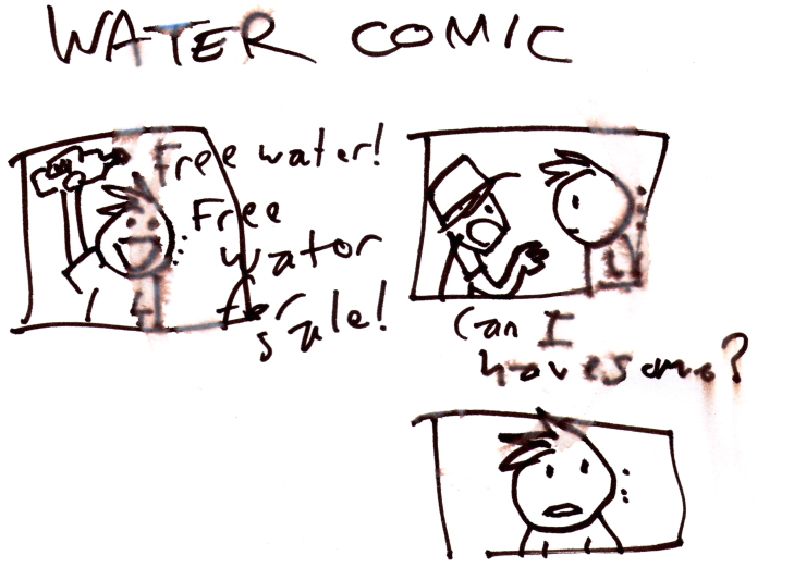 Water Comic (requested by Jasmine Casal)