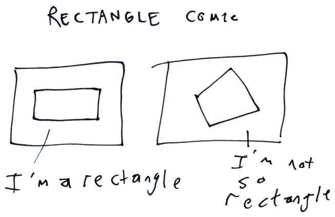 Rectangle Comic