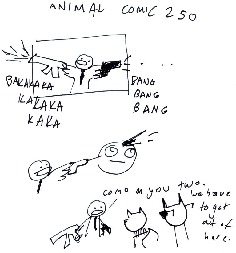 Animal Comic 250