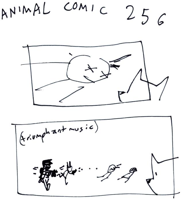 Animal Comic 256