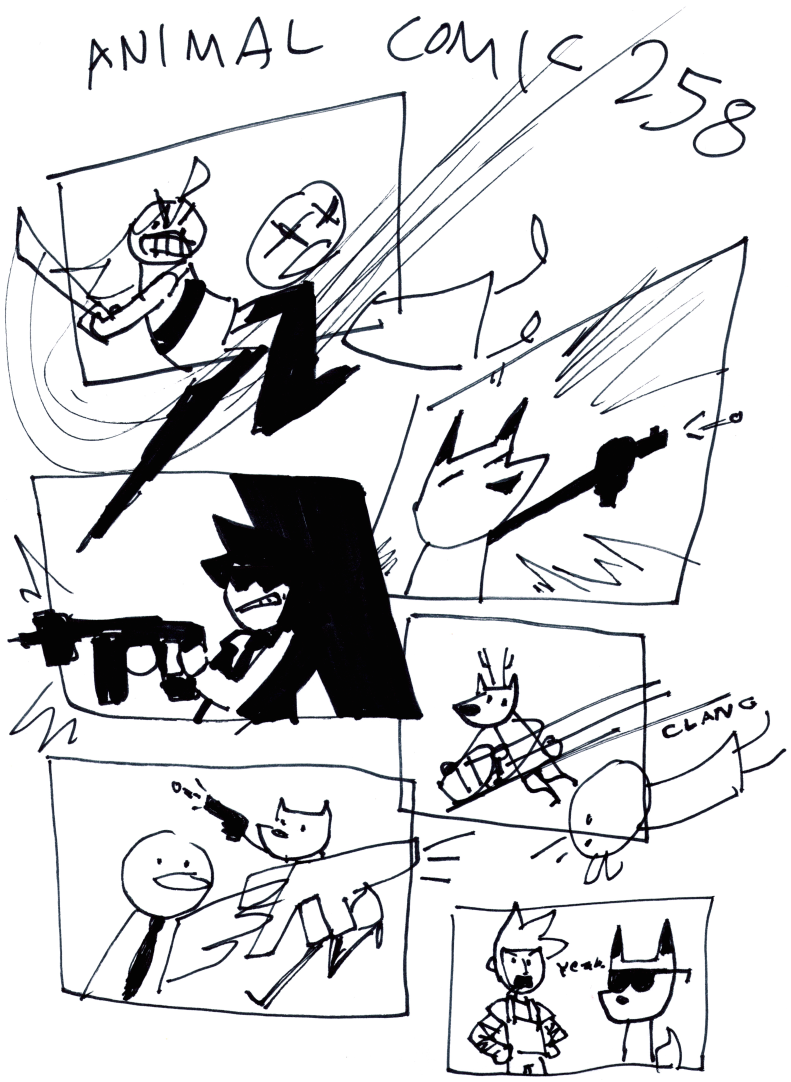 Animal Comic 258