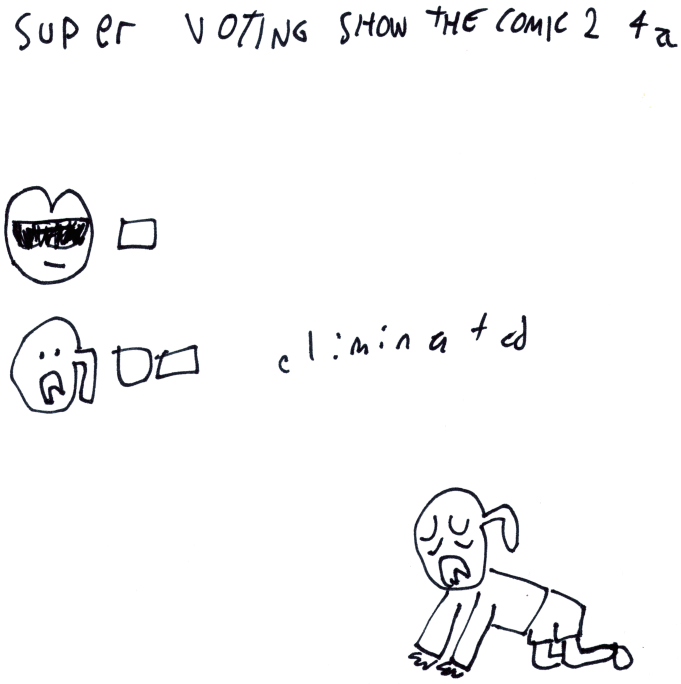 Super Voting Show The Comic 2 4a