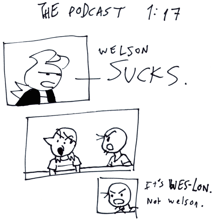 The Podcast 1:17