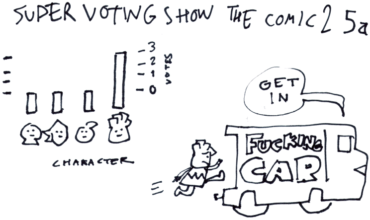 Super Voting Show the Comic 2 5a
