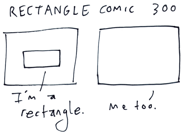 Rectangle Comic 300