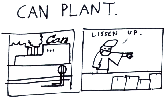 Can Plant.