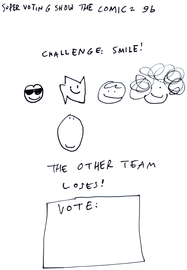 Super Voting Show the Comic 2 9b