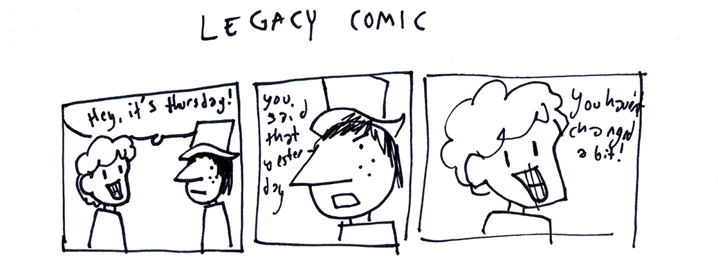 Legacy Comic