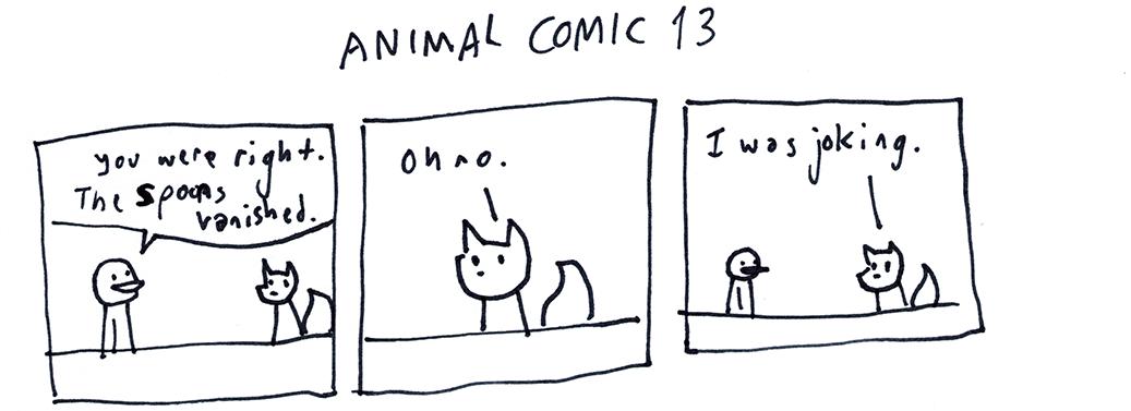 Animal Comic 13