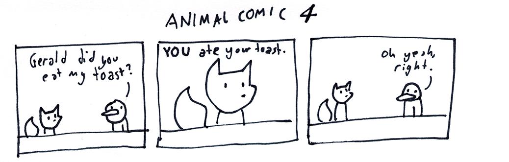 Animal Comic 4