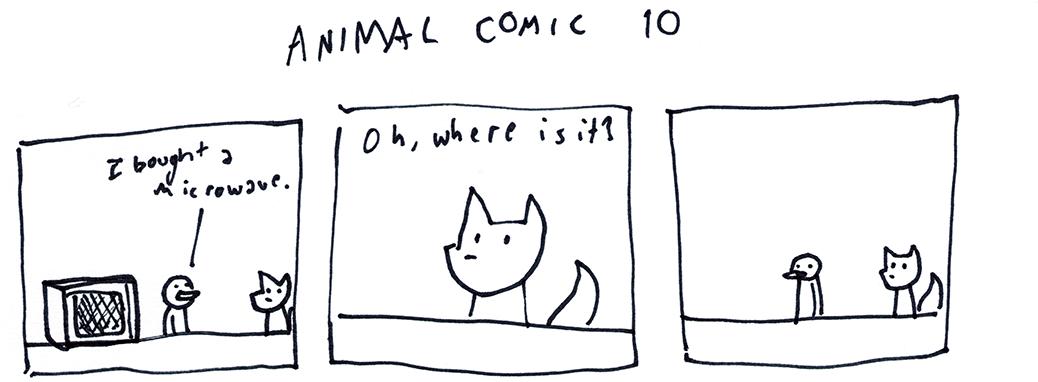 Animal Comic 10
