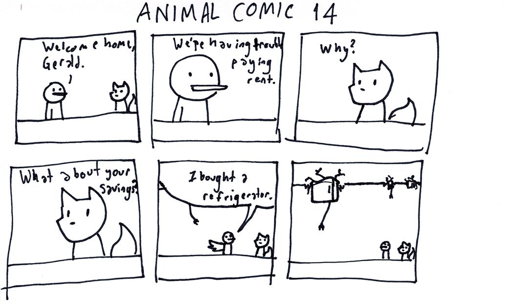 Animal Comic 14