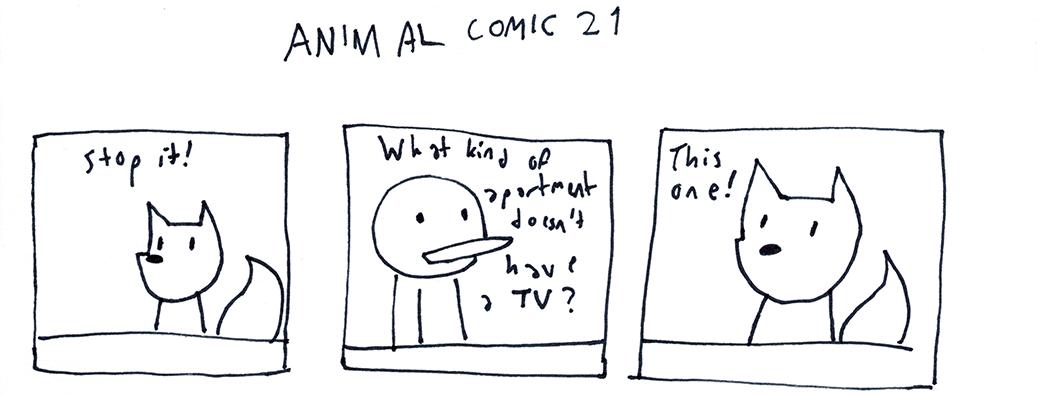 Animal Comic 21