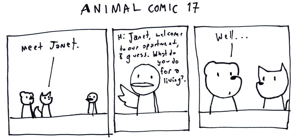 Animal Comic 17