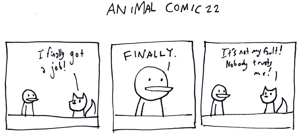 Animal Comic 22