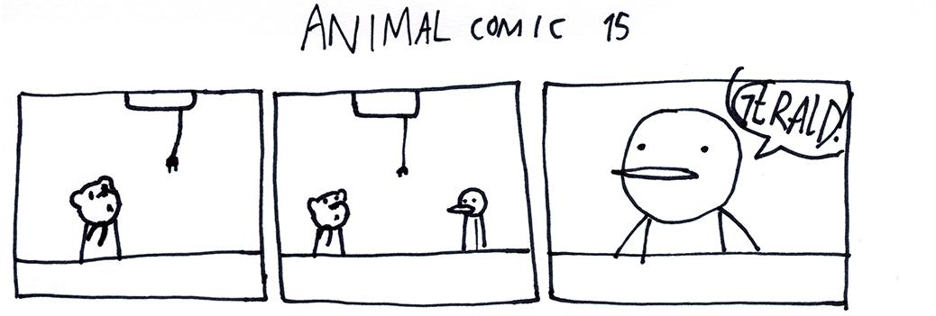 Animal Comic 15