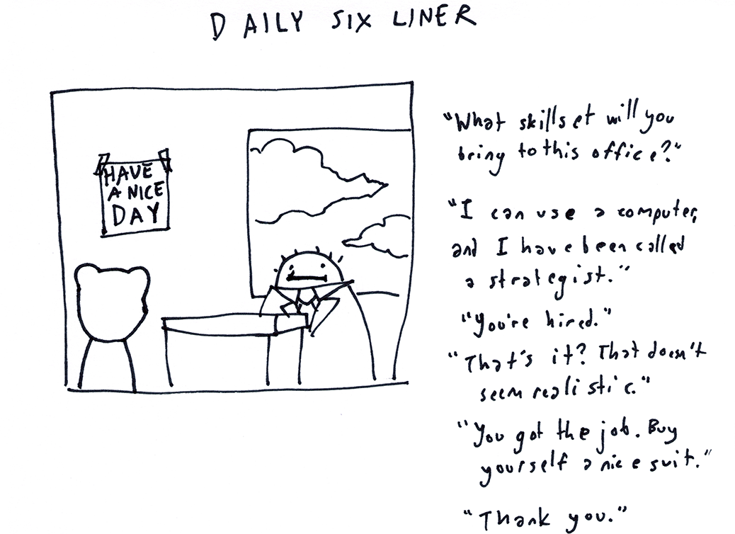 Daily Six Liner