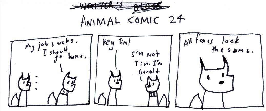 Animal Comic 24