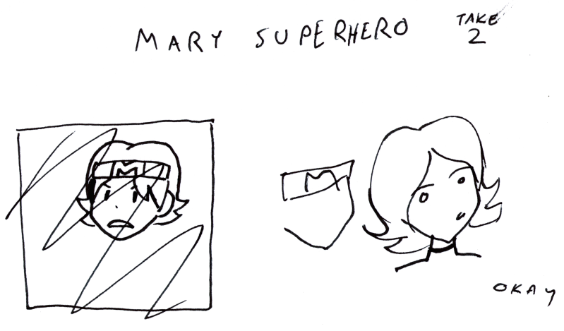 Mary Superhero take 2