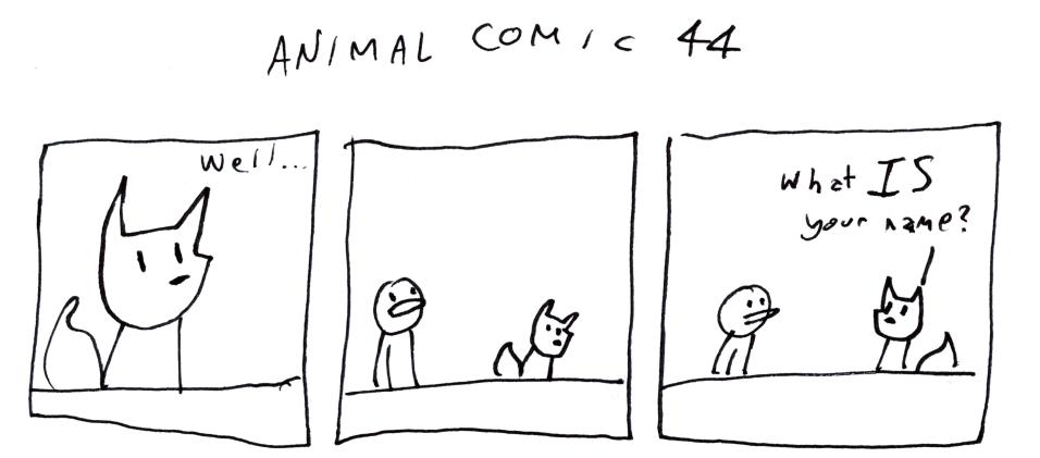 Animal Comic 44