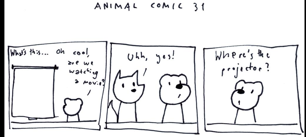 Animal Comic 31