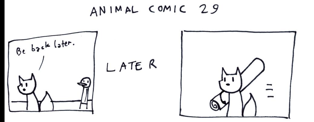 Animal Comic 29