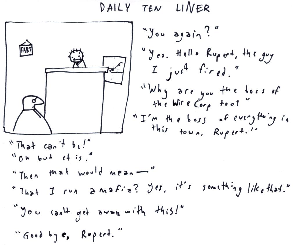 Daily Ten Liner
