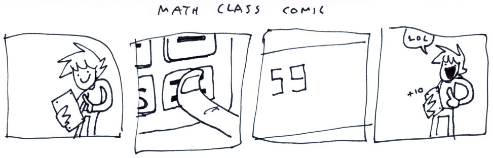 Math Class Comic