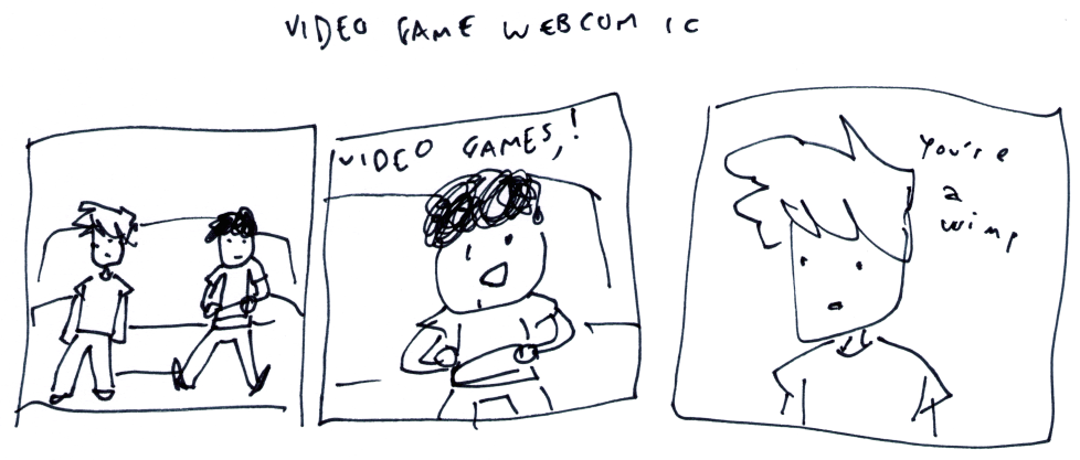 Video Game Webcomic