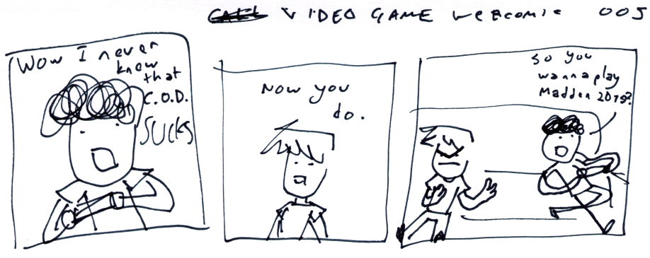Video Game Webcomic 005