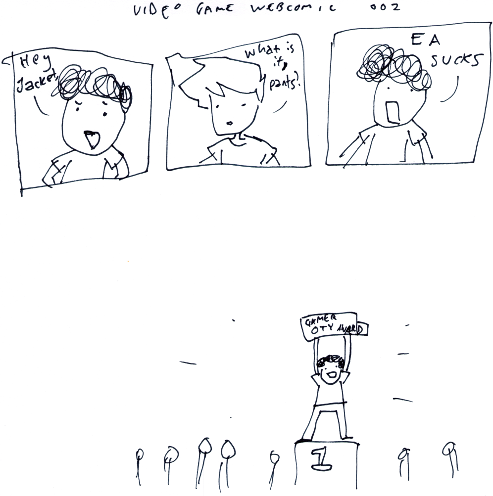 Video Game Webcomic 002