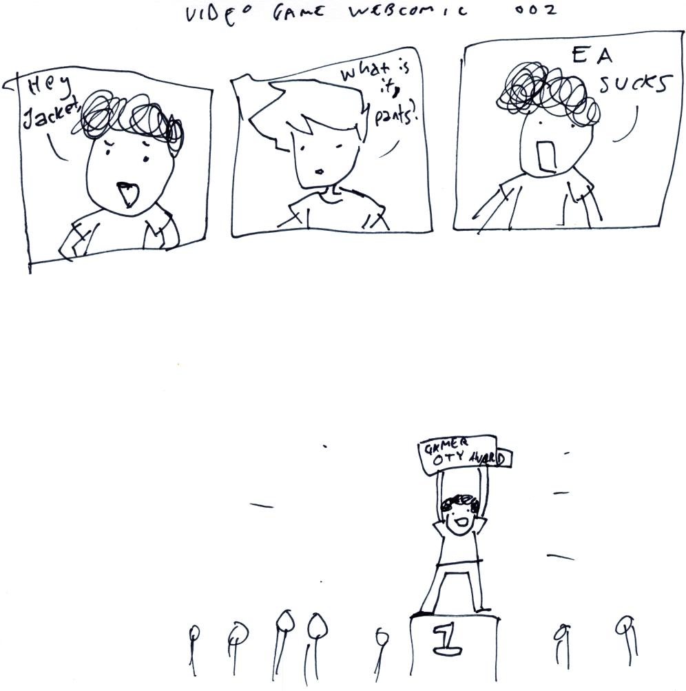 Video Game Webcomic 002