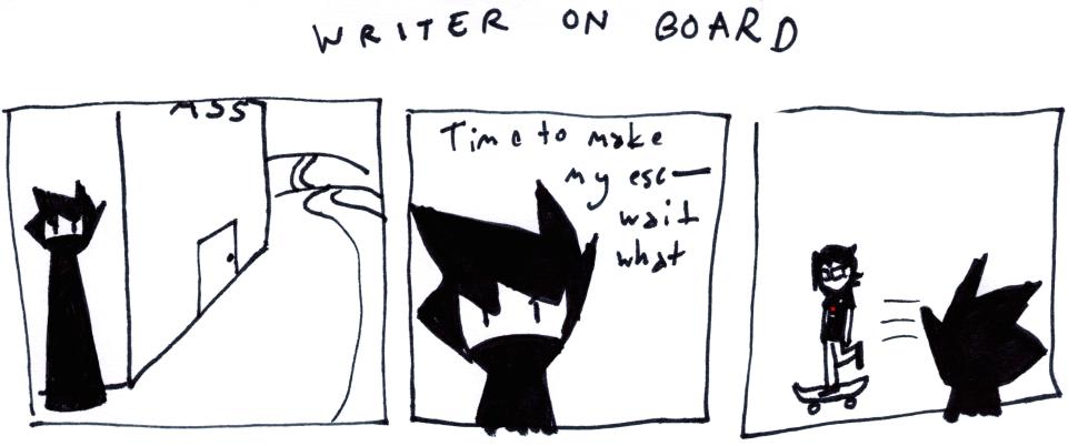 Writer on Board