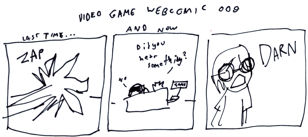 Video Game Webcomic 009