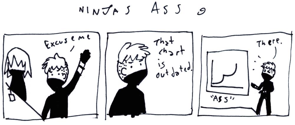 Ninjas Ass 9