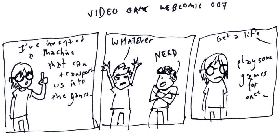 Video Game Webcomic 007