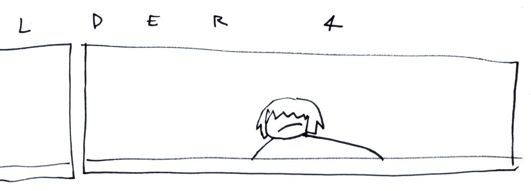 l    d   e   r         4