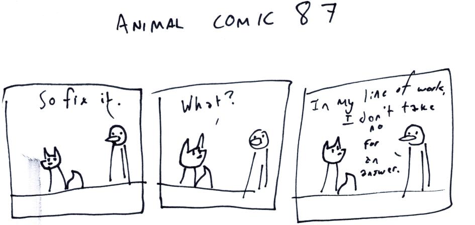 Animal Comic 87