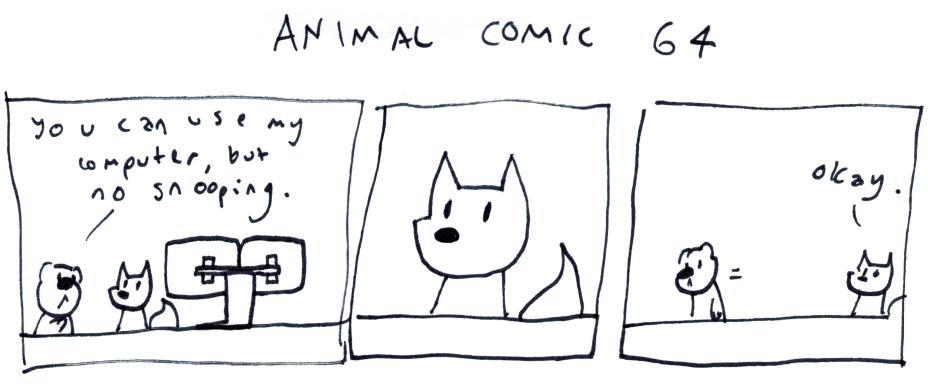 Animal Comic 64