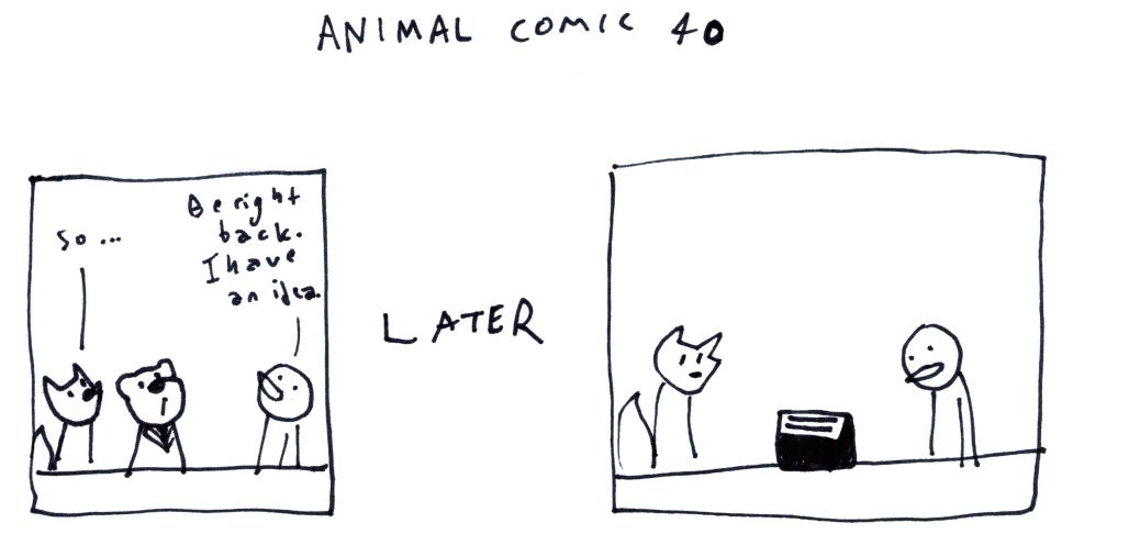 Animal Comic 40