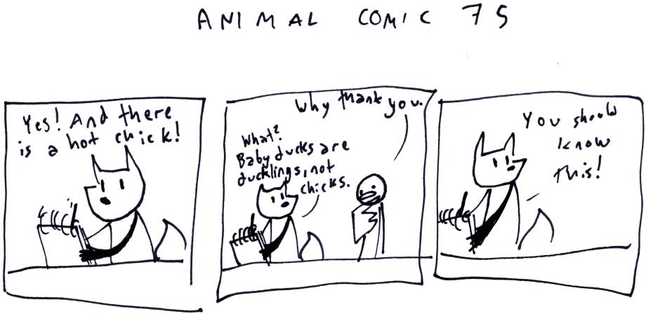 Animal Comic 75