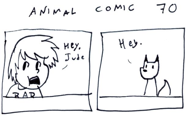 Animal Comic 70