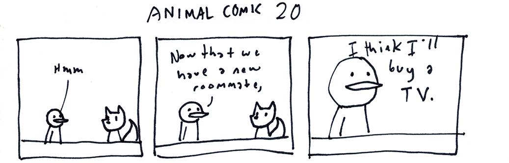 Animal Comic 20