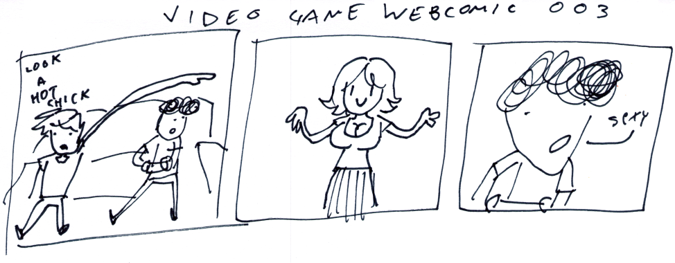 Video Game Webcomic 003