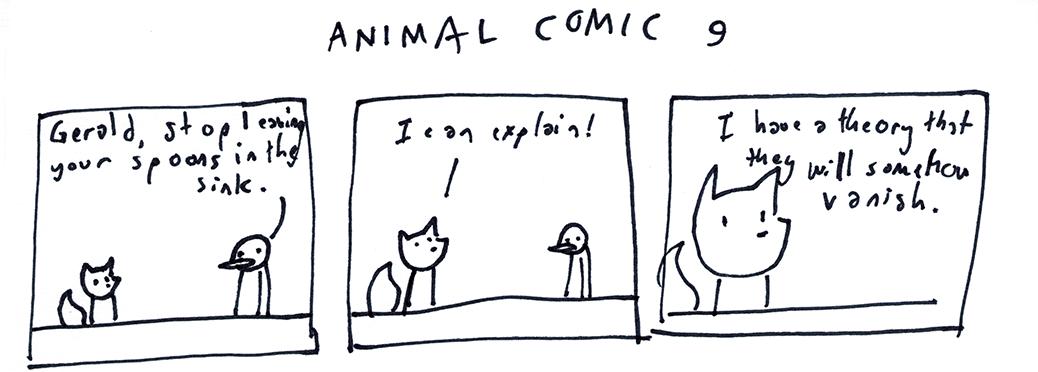 Animal Comic 9